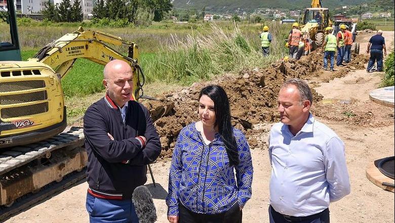 Balluku inspekton punimet e nënstacionit të ri te Gjiri Lalëzit  Përfitues  jo vetëm banorët por edhe pushuesit