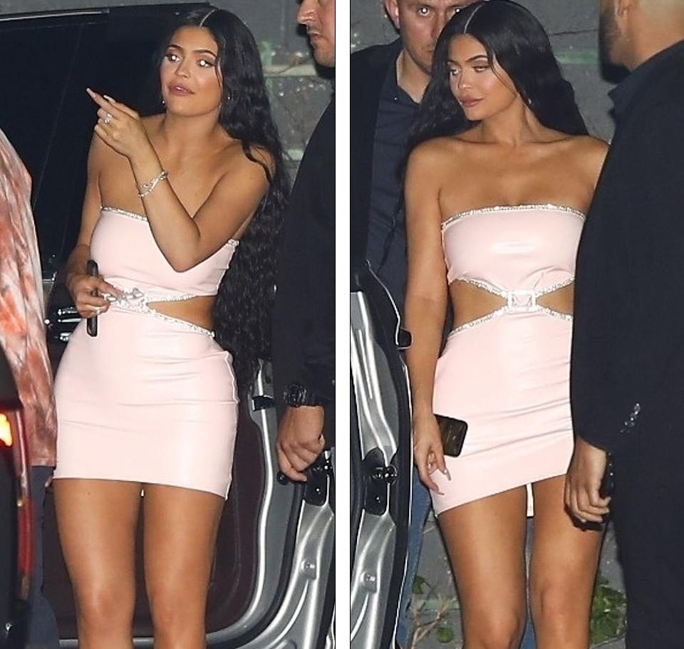 FOTO  Mblidhet  klani  Kardashian  Kylie Jenner shkëlqen në festën familjare