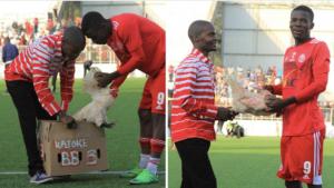 """Malawi/ """"Lojtari më i mirë i ndeshjes"""", merr si shpërblim një … pulë"""