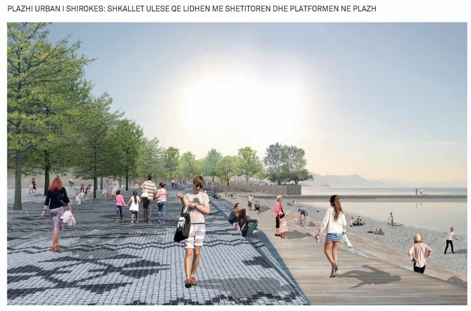 Projekti/ Rama nxjerr FOTO se si do të transformohet vija e liqenit të Shkodrës