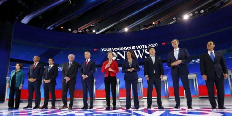 Fushata demokrate për Shtëpinë e Bardhë/Kryeson Biden mbi Sanders dhe Warren