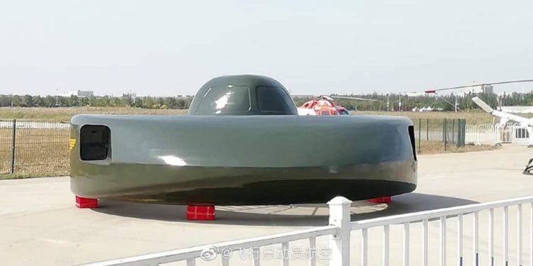 Kina habit botën, prezanton helikopterin si UFO