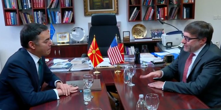 Palmer takohet me Pendarovskin: Mbështesim Maqedoninë e Veriut në rrugën drejt BE-së