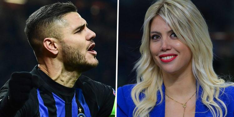 Wanda Nara: E pamë derbin e Italisë, Interit i mungonte Icardi