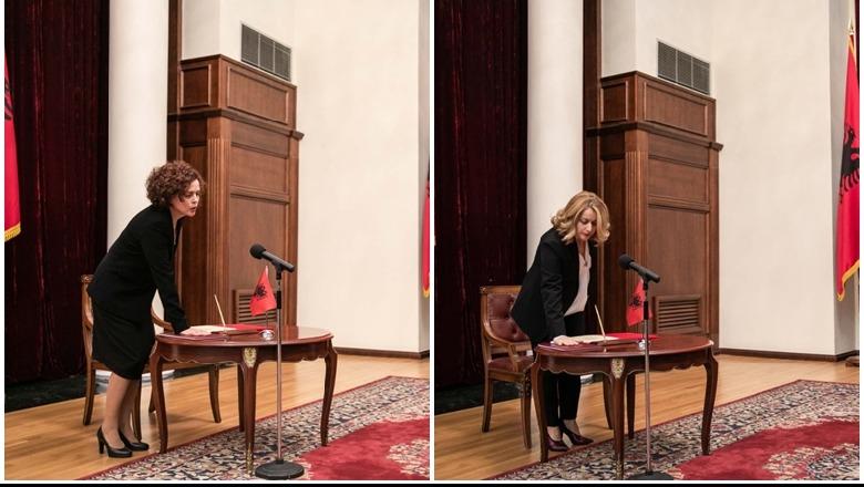 """Thellohet ngërçi me """"Kushtetuesen"""", Marsida Xhaferllari betohet para Metës"""