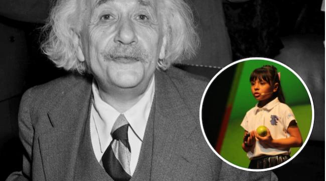 Më e zgjuar sesa Ajnshtaini, 8-vjeçarje befason gjithë botën me shkallën e lartë të inteligjencës