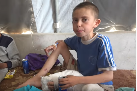 U lirua pas pesë vitesh nga kampi i Sirisë, Alvin Berisha shtrohet në spital