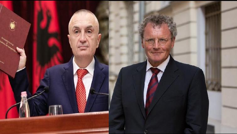 """Kundërshtoi dekretin për zgjedhjet/ Meta shpall """"non grata"""" ambasadorin e OSBE-së Borchardt"""