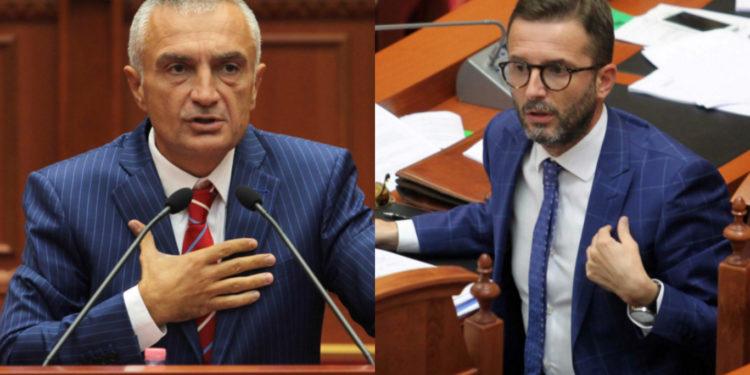 """""""Kushtetuta ka thënë që i 4 nuk bëhet dot i 2″/ Braçe replikon me Metën: Me qejf çdo berber mund ta shpërndajë parlamentin"""