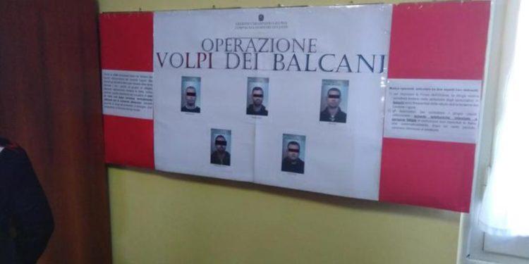 """Emrat/ """"Dhelpra e Ballkanit"""" në Itali, arreston katër shqiptarë për trafik droge"""