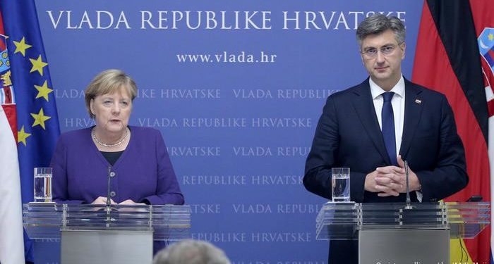 Merkel përsërit në Zagreb apelin për Shqipërinë dhe MV: Të hapen negociatat sa më shpejt me BE-në