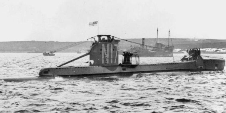 Humbi gjatë Luftës së Dytë Botërore, gjenden mbetjet e nëndetëses misterioze