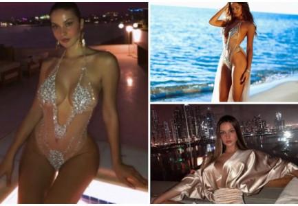 FOTO/ Oriola Marashi me të dashurin misterioz mes luksit të çmendur në Dubai