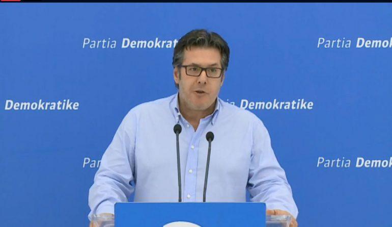 """""""Tryezë me PS"""", Paloka i përgjigjet Ramës në emër të PD: Shqiptarët nuk duan një kryeministër që i mbush ditët me shfaqje të shëmtuara,"""