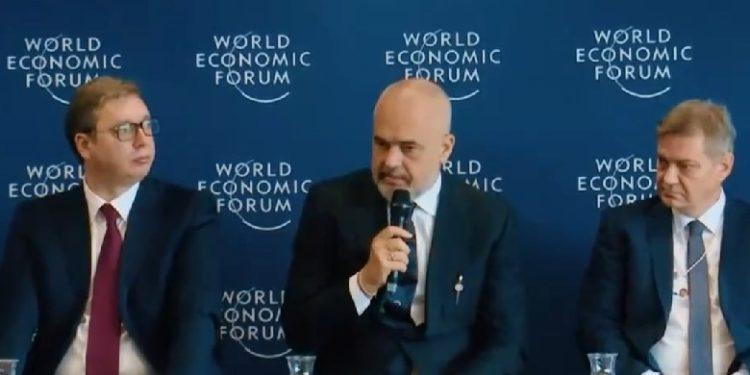 Negociatat, Rama në Davos: Ndihemi si një varkë në mes të detit, na e kanë marrë me forcë busullën