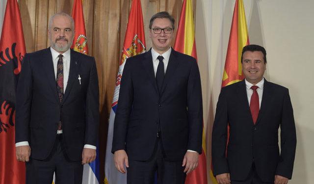 Minishengeni i kritikuar i Ballkanit Perëndimor, Rama, Vuçiç e Zaev takim në Ohër