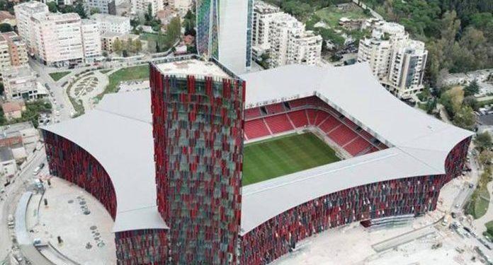 """FOTO/ """"La Gazzetta dello Sport"""" flet për 5 stadiumet që po shkruajnë të ardhmen, mes tyre dhe ai i Tiranës"""