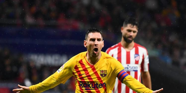 "VIDEO/ Barça thyen Atl Madrid në ""Wanda Metropolitana"", Messi hero"