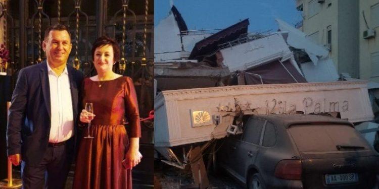 """FOTO/ Nga shembja e hotelit humbi jetën babai, në pranga pronarët e hotel """"Vila Palma"""" në Durrës"""