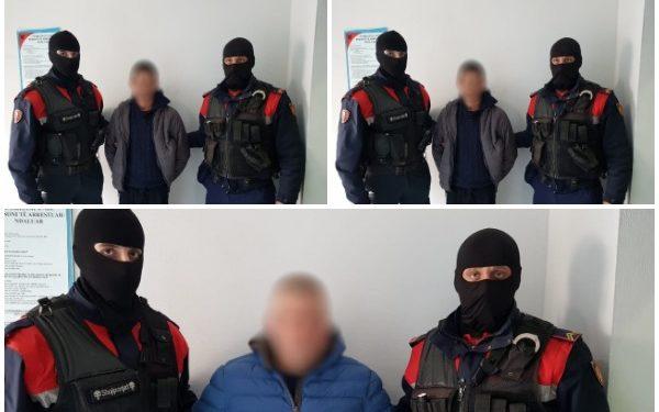 FOTO/ Operacion i përbashkët Shqipëri-Itali. Detaje për 3 të arrestuarit nga RENEA në Shijak, 18 masa sigurie
