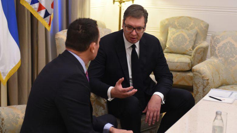 I dërguari i Trump ia thotë Vuçiç në sy në Beograd: Nëse nuk arrini marrëveshje me Kosovën, ne tërhiqemi